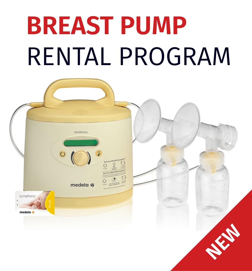 Breat Pump Rental Program in Bonnyville, Alberta